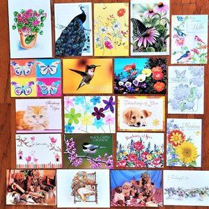 Greeting Cards All Blank Inside Thinking Of You